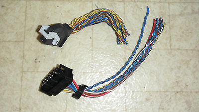 bmw e36 amp wiring harness pig tails plugs 325 328 323 318 amplifier 96 97  98