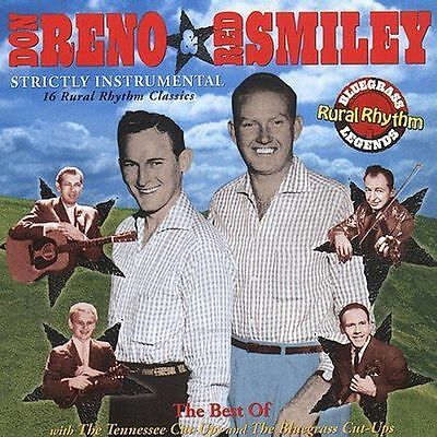 """Don Reno & Red Smiley, Cd """"Strictly Instrumental"""" New Sealed"""