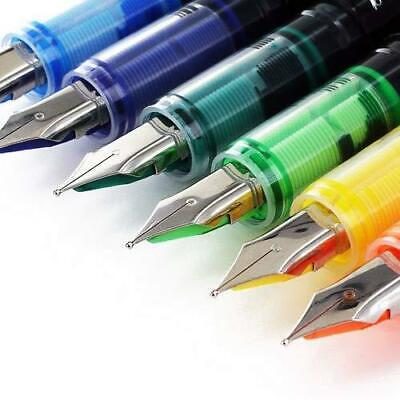 Thornton's Office Supplies Disposable Fountain Pens, Medium Point, Assorted