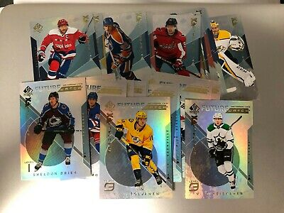 2018-19 SP Authentic Hockey Bounty Unscratched U Pick From List