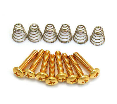 Gold Pickup/Switch Screws/Springs for Fender Stratocaster/Strat® GS-0007-002