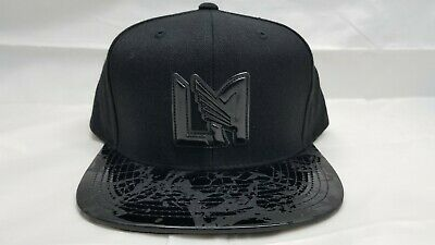 release date: de40e dccc9 Mitchell   Ness Snapback Hat. Mls. Los Angeles Football Club. Lafc. Black
