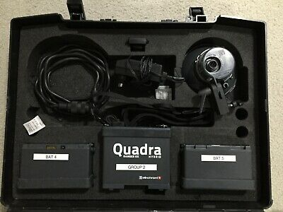 Elinchrom Ranger Quadra RX Portable 400ws Flash With A Head and case.