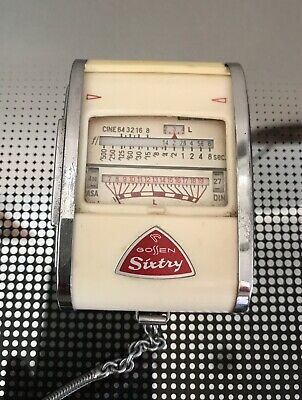 VINTAGE LIGHT METER  - GOSSEN SIXTY -  - Working - w Case