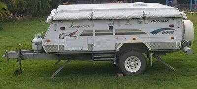 Off road 2003 Jayco dove outback camper caravan