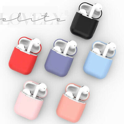AirPods Case Protective Silicone Cover Skin For Apple Airpod Charging Case