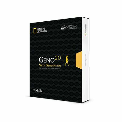 National Geographic DNA Test Kit: Geno 2.0 Next Generation (Ancestry) - Power...