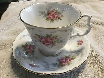 Royal Albert Bone China Cup / Saucer England     Tranquillity Pattern