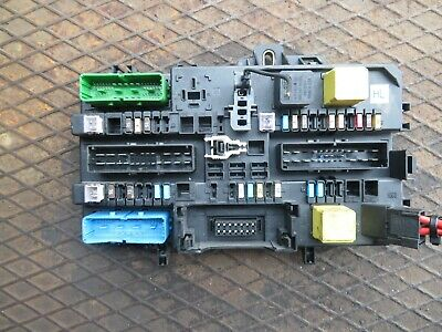 vauxhall astra h zafira b rear fuse box relay 13 206 763 hl bcm tested 05