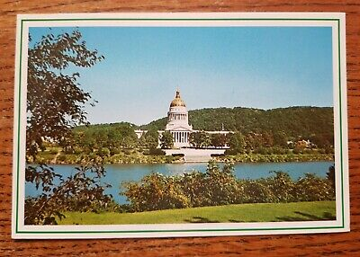 State Capitol Charleston West Virginia Postcard