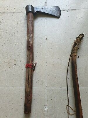 Very Rare Antique (massive) Sioux Tomahawk, 18th to 19th century - Indian Wars