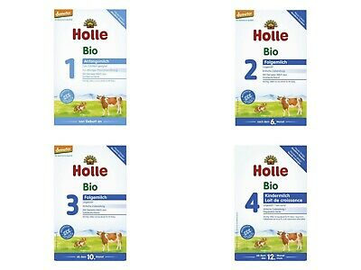 Holle Cow Milk Organic Formula Stages: 1/2/3/4 Volume Discounts!