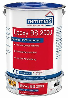 Remmers Epoxy BS 2000 New 10 kg Gris Ral 7012 Apprêt Contact