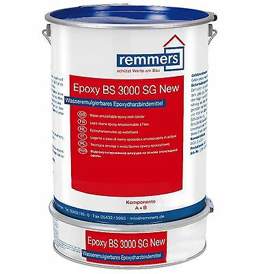 Remmers Epoxy BS 3000 Sg New 10 kg Gris Ral 7012 Scellage Sol Mur