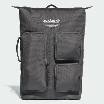 a1a5a504cee1 RRP £69.95 adidas Originals NMD Backpack Padded Rucksack Laptop Bag Trefoil  Grey