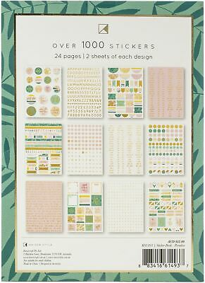 Planner Stickers Kaisercraft K Style Colourpop Gold Foil Quotes Tags Booklet