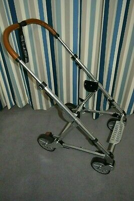 Mamas and Papas Silver Aluminium Urbo Urbo2 Replacement Pram Chassis + Wheels