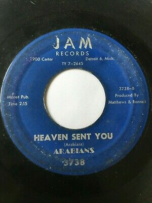 "Doo-Wop Soul 45/ Arabians ""Heaven Sent You""    Hear!"