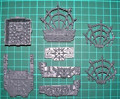Slaves To Darkness Chaos Warshrine Bits/Parts - Multilisting (9 variants)