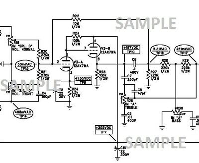 Amplifier Schematic Diagram - Diagrams Catalogue on