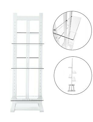 Free Standing glass shelves & Wooden Stand Alone Window Expo exhibitions Display