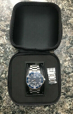 7bb1d12ab ORIS AQUIS DATE 01 733 7653 4128MB Wrist Watch for Men, Pre-owned ...