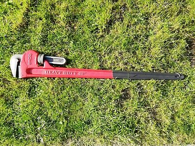 "Broq Heavy Duty 48"" 1200Mm Adjustable Pipe Wrench Stilson"