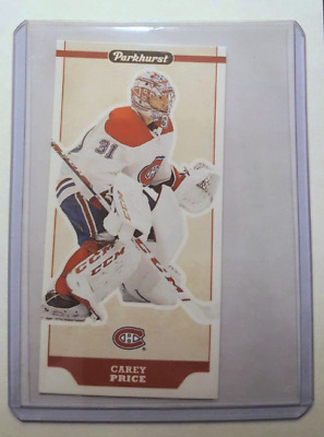 2018-19 UD Parkhurst Tallboys CAREY PRICE E-PACK EXCLUSIVES Montreal Canadiens