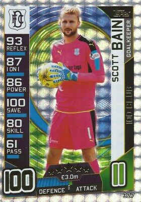 Match Attax Spfl 2016/17 Hundred 100 Club Scott Bain Dundee