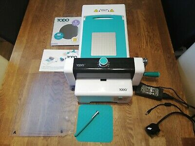Todo Multi Function Crafting Machine With Hot Foil Function And Accessories.