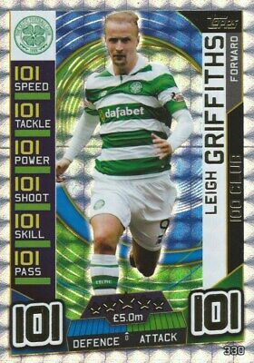Match Attax Spfl 2016/17 Hundred 100 Club Leigh Griffiths Celtic