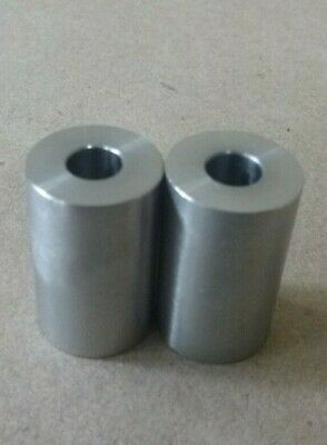 "7//16/"" ID x 1/"" OD STAINLESS STEEL 303 STANDOFF SPACER SPACERS BUSHINGS 2pcs."