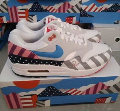 buy online c0825 fe00b NIKE AIR MAX 1 parra 2018 amsterdam atmos TierZero receipt ticket US10.5  limited