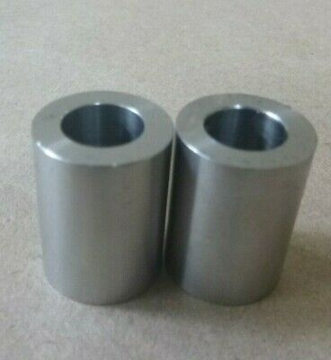 """7/16"""" ID x 3/4"""" OD STAINLESS STEEL 303 STANDOFF SPACER SPACERS BUSHINGS (2pcs.)"""