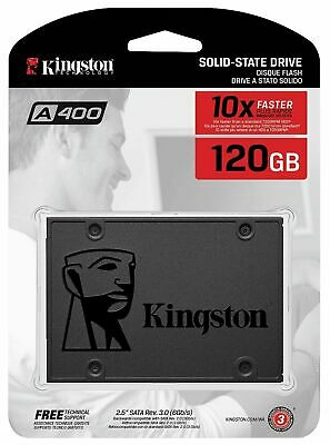 "Kingston A400 120GB SATA III 2.5"" Internal Solid State Drive X SA400S37/120G"