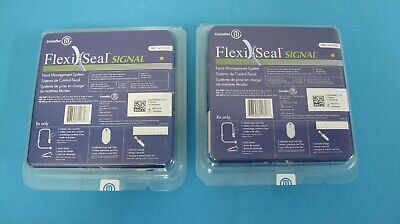 LOT Of TWO KITS Convatec Flexi-Seal SIGNAL FMS Fecal Management System # 418000