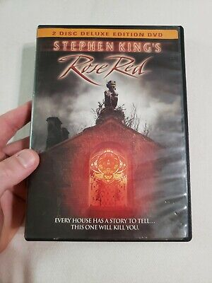 Rose Red Deluxe Edition (DVD, 2002, 2-Disc Set) Stephen King