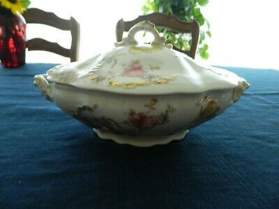 Bishop & Stonier China Covered Tureen Floral