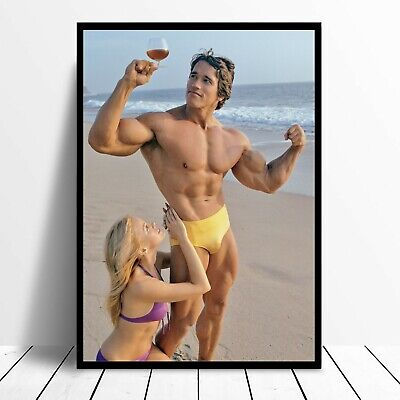 Arnold Schwarzenegger Bodybuilding Poster Arnie Mr Universe AS11 Buy 2 Get 1FREE