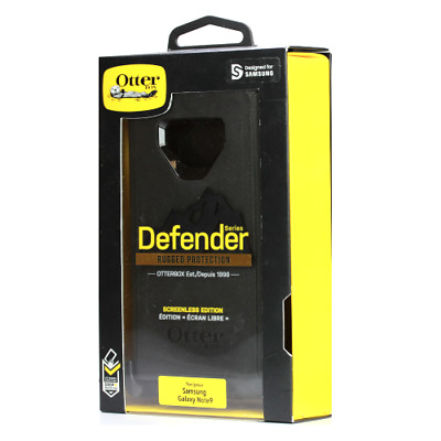 OtterBox OEM Genuine Defender Case for Samsung Galaxy Note 9 - Black