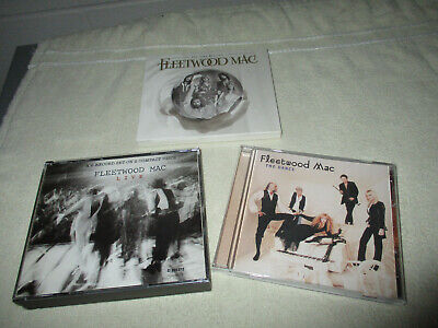 Fleetwood Mac 5 CD Lot ~ 2CD Sets Very Best Of & Live, The Dance  + a great gift