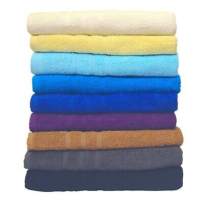 Super Jumbo Bath Sheets Towels Extra Large 100% Pure Cotton Super Soft 90 x 175