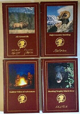 North American Hunting Club 4 Volumes H/C