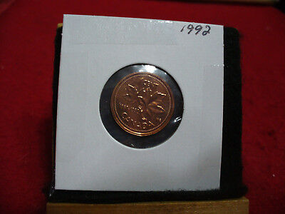 1992  Canada  1  Cent Coin  Penny  Proof Like  High  Grade  Sealed  See Photos