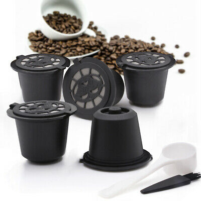 Coffee Capsules Stainless Steel Pods +Spoon For Nespresso Convenient Hot Sale