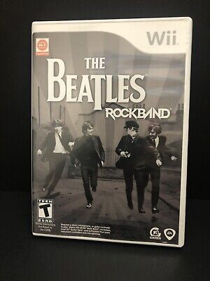 THE BEATLES ROCK BAND Video Game for Microsoft XBOX 360