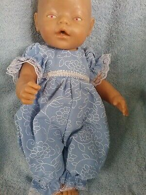"Dolls clothes for 17"" ZAPH BABY BORN DOLL"