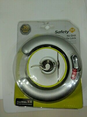 Safety First No Drill Lever Lock Handle Lock for Kids Child Security Protection