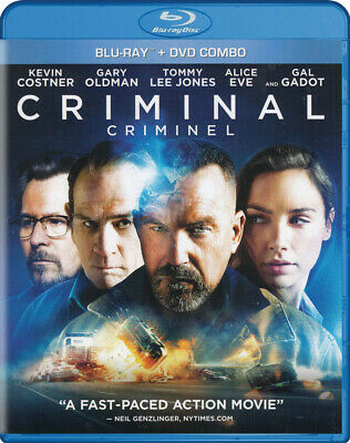 Criminal (Blu-Ray + Dvd) (Blu-Ray) (Bilingual) (Blu-Ray)