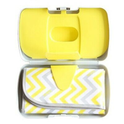 New In Box Never Used  Bbox B.box Diaper Nappy Wallet Yellow/grey Mellow Lellow